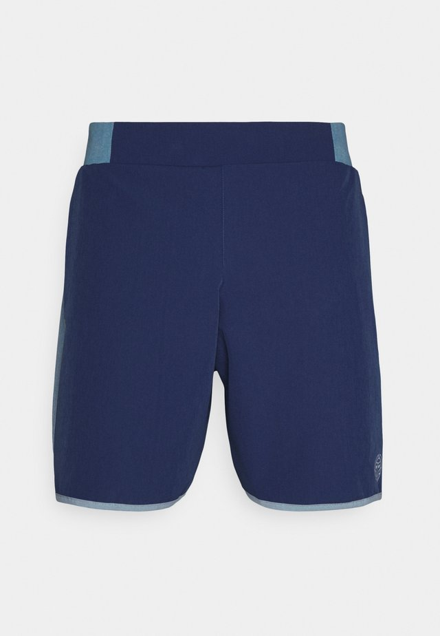ADNAN TECH SHORTS - Urheilushortsit - denim blue/dark blue