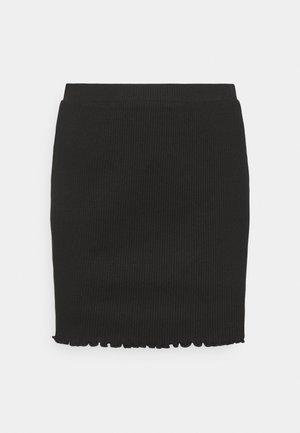 VIBALU SKIRT - Mini skirt - black