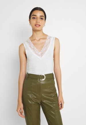 LADIES KNITTED TANK - Top - offwhite