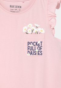 Blue Seven - SMALL GIRLS DAISY - Print T-shirt - rosa - 2