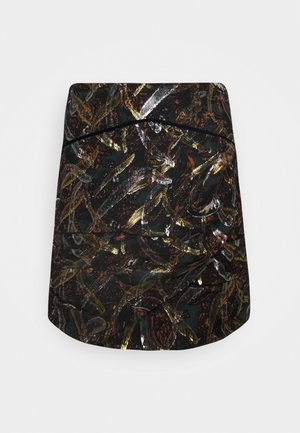 SABATINO SKIRT - Gonna a campana - multi/verde/arancione