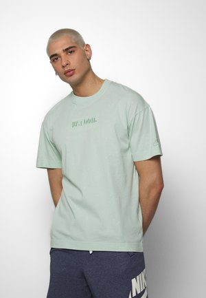T-shirt con stampa - pistachio frost