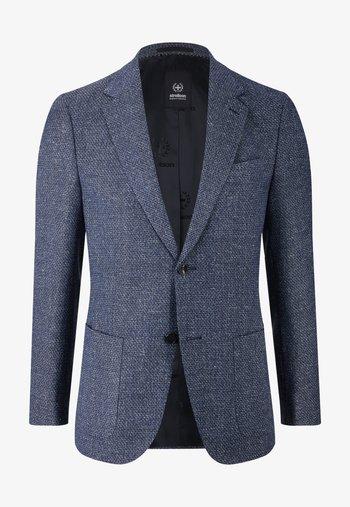Blazer jacket - navy gemustert