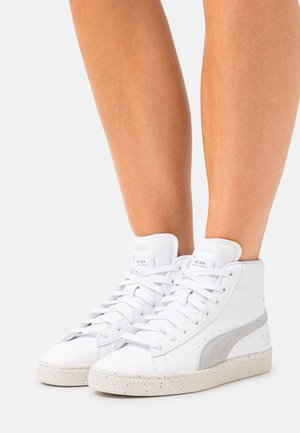 BASKET MID XXI V2 RE.GEN - High-top trainers - white/pebble