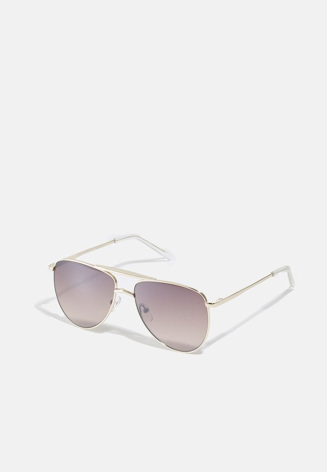 HIGH FANGLE - Lunettes de soleil - gold-coloured