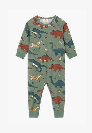 FUNNY DINOSAURS BABY - Pyžamo - green