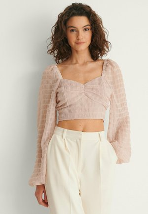 Blouse - dusty pink