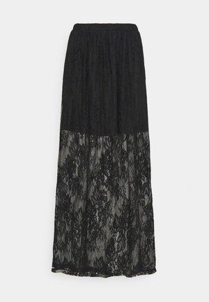VIKAMPA FESTIVAL MEDI SKIRT - Maxi skirt - black