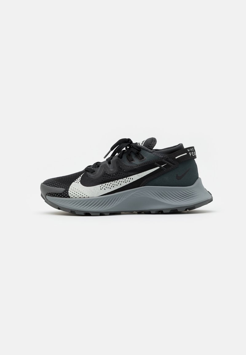 Nike Performance - PEGASUS TRAIL 2 - Trail running shoes - black/spruce aura/dark smoke grey
