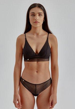 RANI - Triangle bra - black