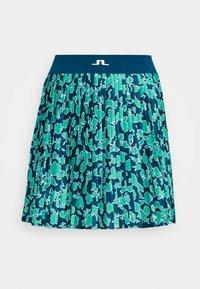 J.LINDEBERG - BINX PRINTED GOLF SKIRT - Sports skirt - poseidon - 3
