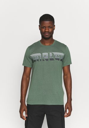 EXPLORE TEE - T-shirt con stampa - alpine tundra