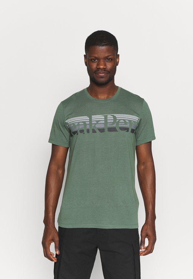 EXPLORE TEE - T-shirt print - alpine tundra