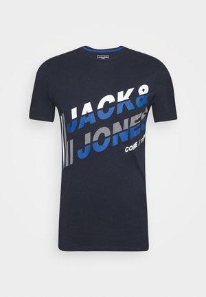JCOALPHA TEE - Print T-shirt - navy blazer