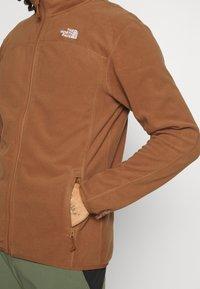The North Face - GLACIER FULL ZIP - Fleece jacket - pinecone brown - 3