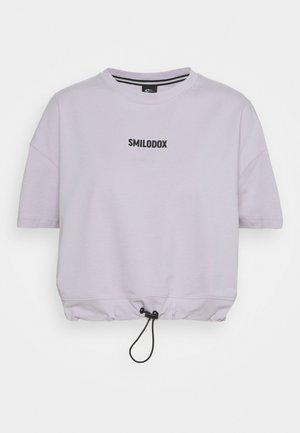DAMEN  - Print T-shirt - lila