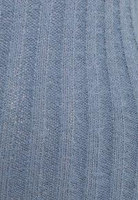 Missguided - FLUFFY MIDAXI DRESS - Strikket kjole - blue - 2
