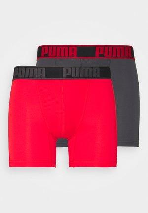 ACITVE BOXER 2 PACK - Shorty - red combo