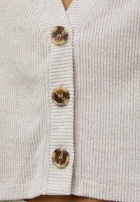 PULL&BEAR - Cardigan - mottled beige - 3