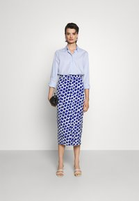 Diane von Furstenberg - CALANDRA SKIRT - Pencil skirt - true blue - 1