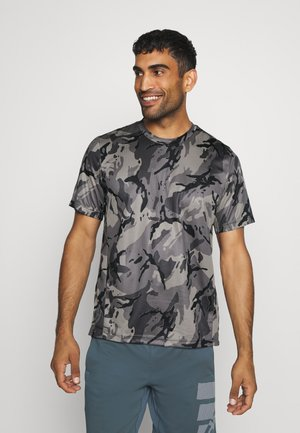 TEE - T-shirts print - grey/black