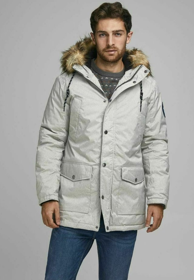 Cappotto invernale - light grey melange