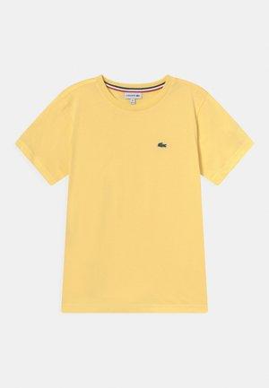 TEE  - T-shirts basic - yellow