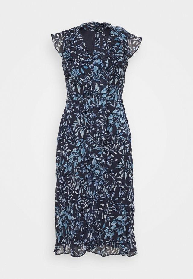 MARIKA  SLEEVE DAY DRESS - Day dress - navy blue