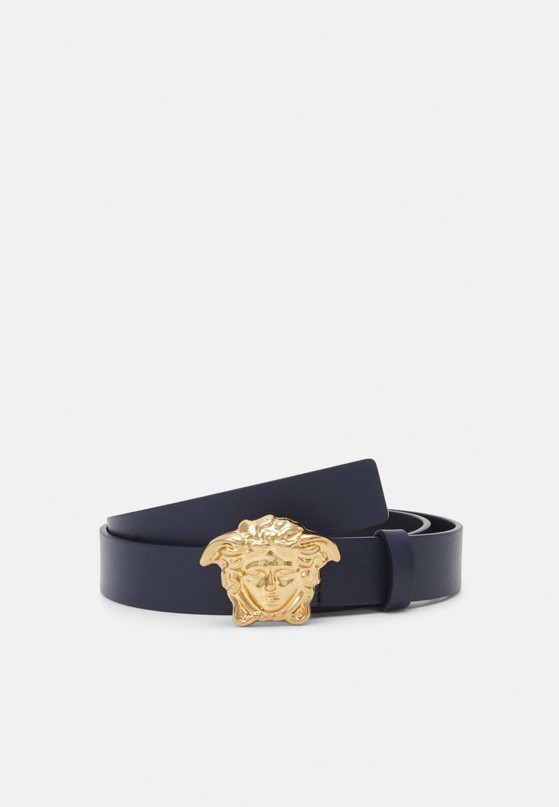 Versace - MISSING ENGLISH LOCALIZZATION UNISEX - Pásek - blue navy/gold