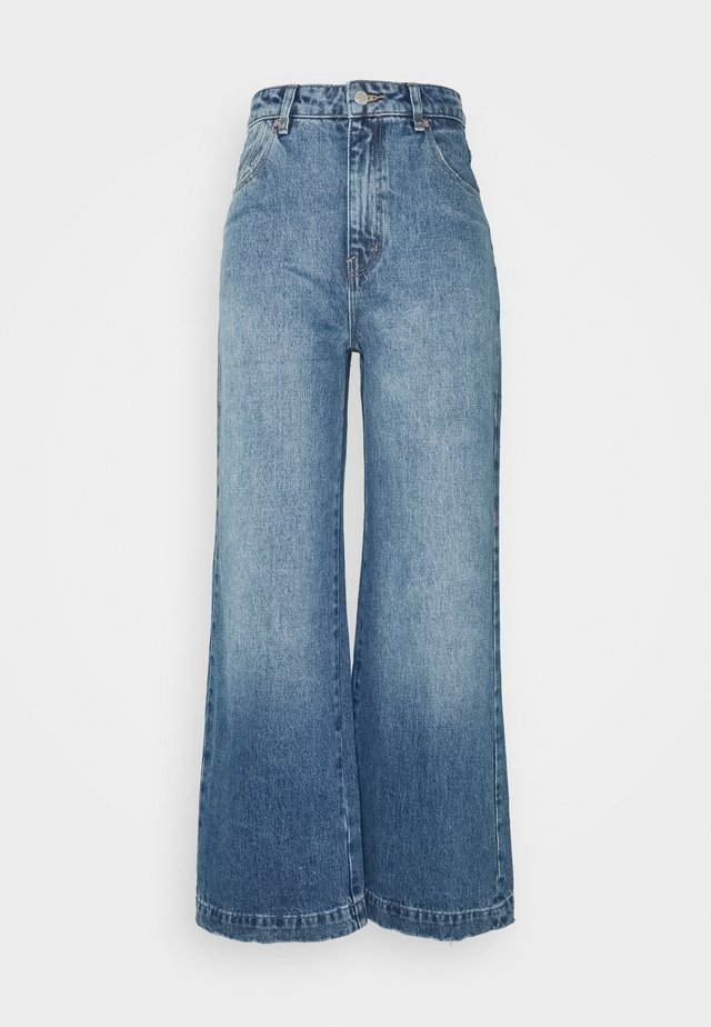 OLD MATE - Jeans a zampa - prarie blues organic