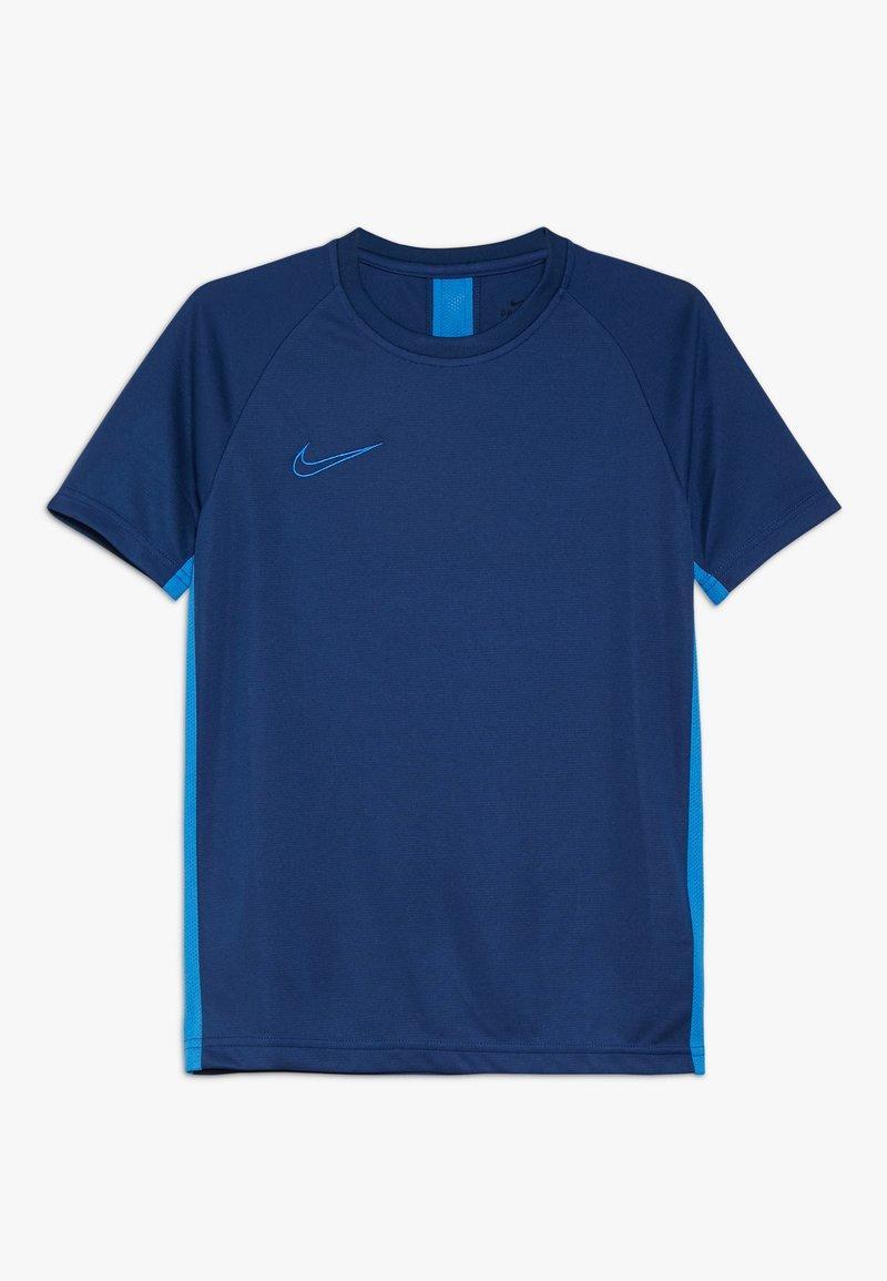 Nike Performance - DRY ACADEMY - Sports shirt - coastal blue/light photo blue