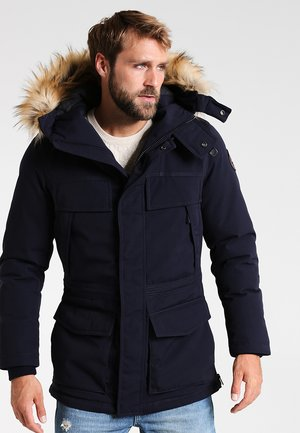 SKIDOO OPEN LONG - Winter coat - blu marine