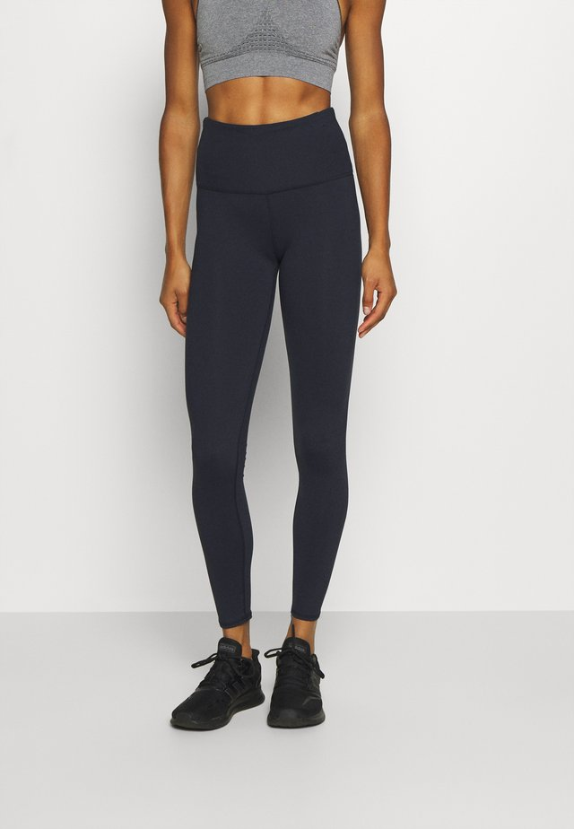 ACTIVE HIGHWAIST CORE - Leggings - navy