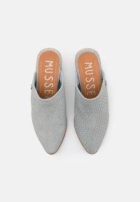 Musse & Cloud - HELEN - Pantofle na podpatku - blue sky - 5