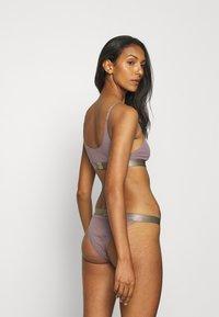 Calvin Klein Underwear - BRALETTE - Top - plum dust - 2