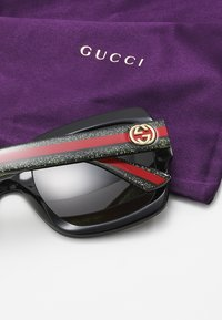 Gucci - Sonnenbrille - black/gree/brown - 4
