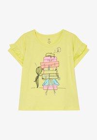 GAP - TODDLER GIRL  - T-shirt con stampa - yellow - 3