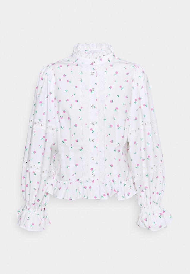 ALEXISCRAS  - Pitkähihainen paita - white