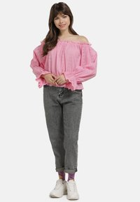 myMo - BLUSE - Blouse - pink - 1