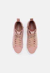 Esprit - SIMONA  - Sneakers hoog - old pink - 4