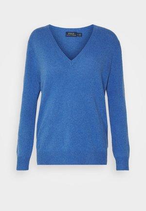CLASSIC LONG SLEEVE - Svetr - deep blue heather