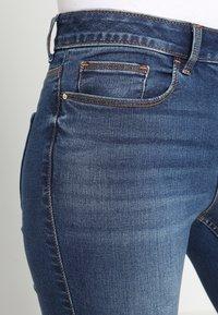 Vila - VICOMMIT FELICIA  - Slim fit jeans - dark blue denim - 4
