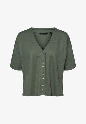 VMAMAYA - Button-down blouse - green
