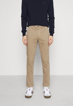 BLEECKER FLEX - Trousers - beige