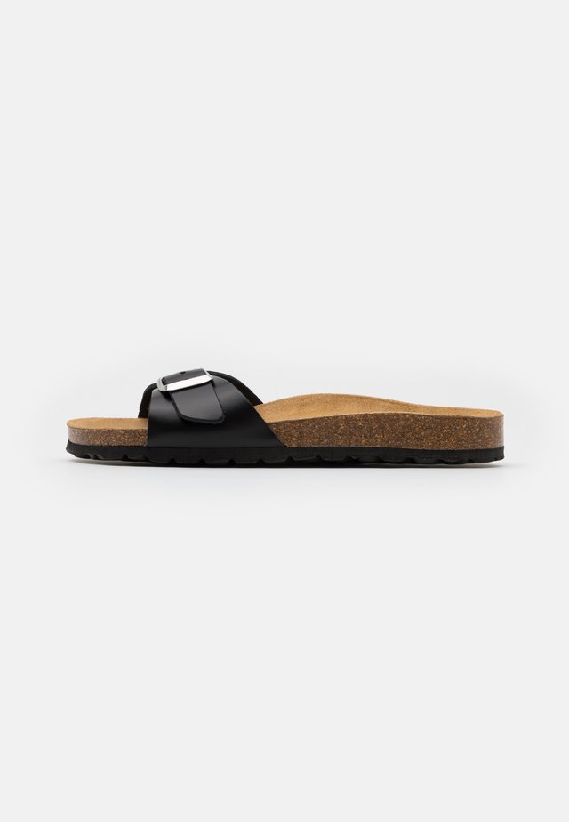 ONLMADISON SLIP ON - Kapcie - black