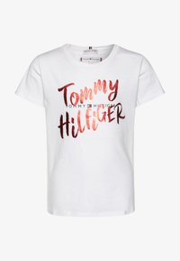 Tommy Hilfiger - GRAPHIC ON TEE  - T-shirt con stampa - white - 0