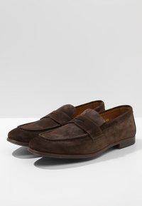 Doucal's - PENNY LOAFER - Elegantní nazouvací boty - moro - 2