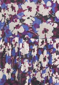 Soaked in Luxury - Day dress - dazzling blue flower - 2
