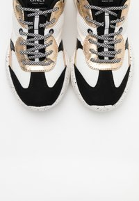 ONLY SHOES - ONLSANNA CHUNKY - Trainers - white/gold - 5