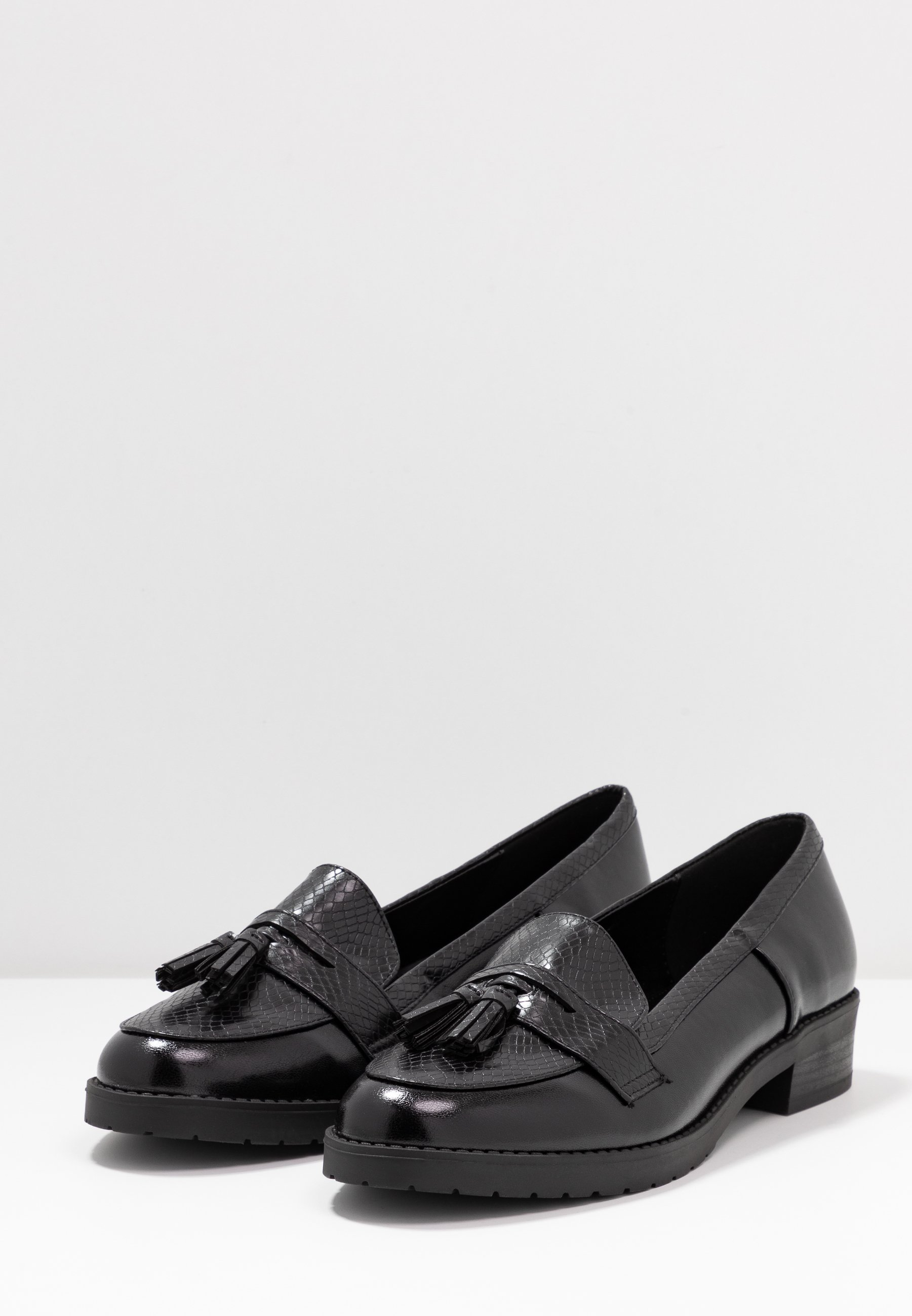 Dorothy Perkins LITTY LOAFER Slipper black/schwarz